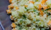 Taboulé à l'ananas et aux carottes