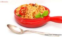 Salade Risoni aux tomates cerise et feta