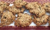 Cookies avoine, graines de tournesol et potiron