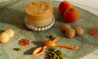 Duo de mousses abricots-pistache