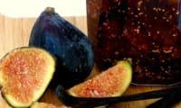 Confiture de figues à la vanille