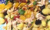 Salade de raie aux oranges et petites rattes