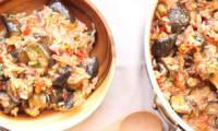 Pilaf aux aubergines comme en Grèce
