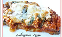 Aubergines pizza