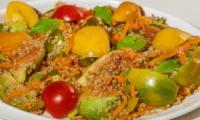 Salade de quinoa aux figues et aux noix