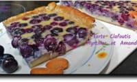 Tarte clafoutis aux myrtilles et amandes