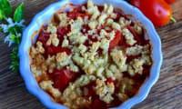 Crumble de tomates du jardin