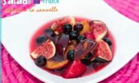 Salade de fruits infusés à la cannelle