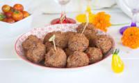 Falafels de haricots rouges aux épices douces