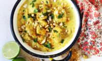 Poulet korma à la crème végétale coco