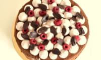 Entremet chocolat framboise