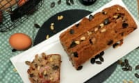 Cake au jambon, tomates séchées et olives de Kalamata