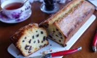 Le cake raisins et Grand Marnier de Lenôtre