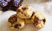 Cookies aux snickers