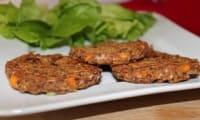 Galettes aux haricots rouges et carottes