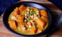Curry de patate douce et pois chiche