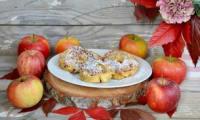 Beignets aux pommes express sans friture