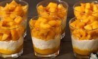Verrines mangues mascarpone