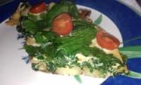 Omelette iranienne revisitée aux herbes