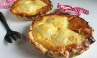 Tartelette noisettes aux poires et aux amandes