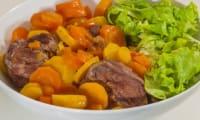 Joues de porc aux carottes