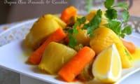 Tajine de fenouil carottes et olives