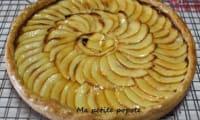 Tarte aux pommes et crème de marron