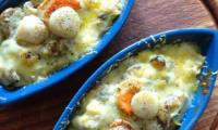 Cassolettes aux fruits de mer