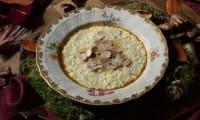 Risotto à la truffe blanche d'Alba