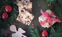 Bredele aux pépites aux noix de cajou et raisins