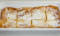 Gâteau à la pâte filo et au fromage blanc