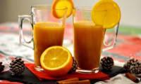 Jus d'orange chaud aux épices de Noël - L'Entracte Gourmand