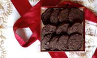 Sablés de Noël au chocolat et à la fleur de sel