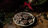 Crinkles au chocolat et au gingembre