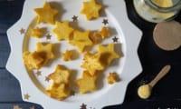 Étoiles de polenta au comté