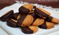 Biscuits sablés au beurre et chocolat