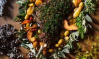 Cuissot de marcassin aux fruits d'hiver