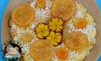 Couronne des rois agrumes fleur d'oranger