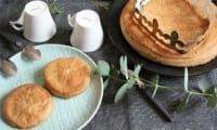 Galette des rois à la crème de pralin de courges { sans gluten, sans œufs} - Allergique Gourmand