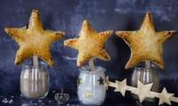Mini galettes des Rois amandes myrtilles
