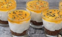 Cheesecakes aux fruits de la passion