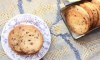 Biscuits au blé noir et au grué de cacao