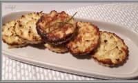 Tartelettes chou-fleur et roquefort