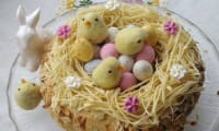 Nid de Pâques au praliné noisette