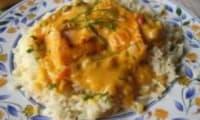 Curry de Saumon Suzi Wan