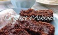 Gâteau Coulant au Chocolat Noir et Tahin