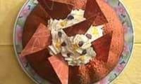 Gateau à l'orange et au chocolat blanc