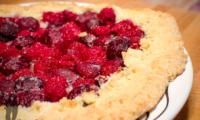 Tarte rustique aux fruits rouges