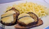 Saltimboccas de veau aux aubergines et morbier