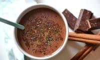 Chocolat chaud maison au thé